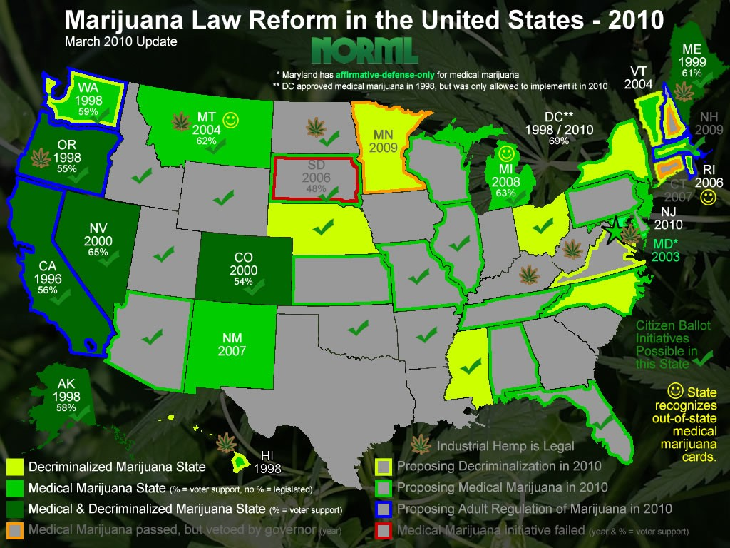 Marijuana Legalization Today and Tomorrow