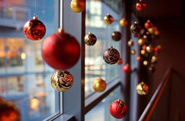 a shop window at christmas essay