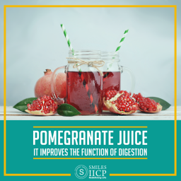 pomegranate for easy digestion- siicp