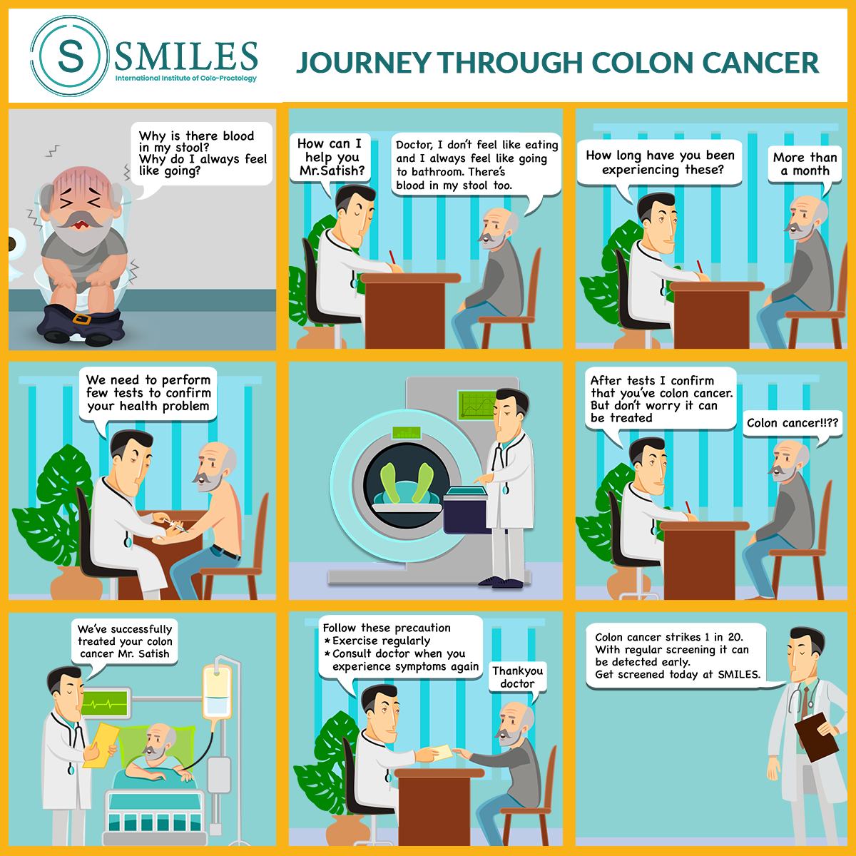 10. Summary of colon cancer journey