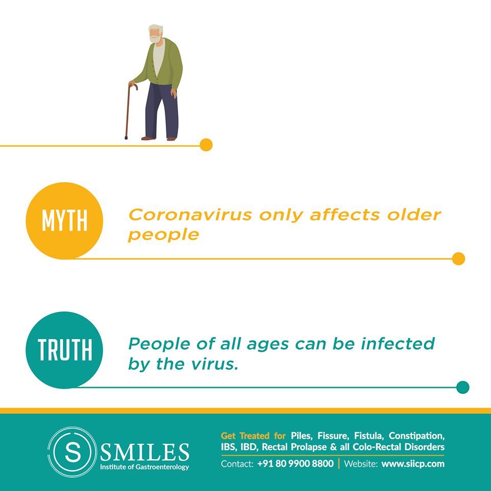 People of all ages can get coronavirus