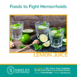 Lemon to Prevent Piles