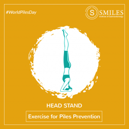 Head Stand for Piles Prevention - SMILES Bangalore 2020-01-31