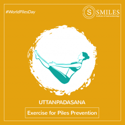 Uttanpadasana for Piles Prevention - SMILES Bangalore 2020-01-31