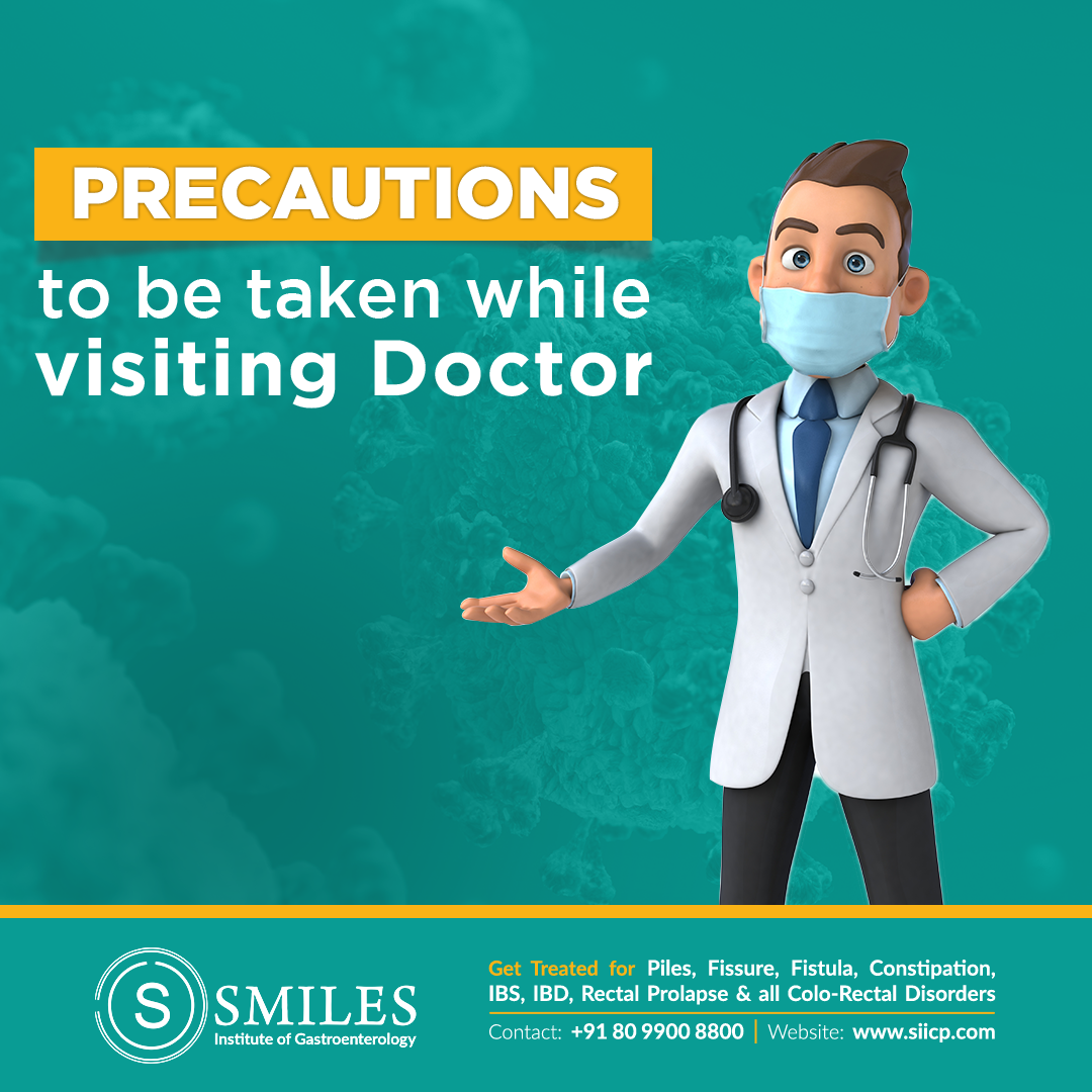 Precautions to be taken while visiting doctor - Don't avoid your doctor during this pandemic. Don't think it's too risky to avail medical care.
