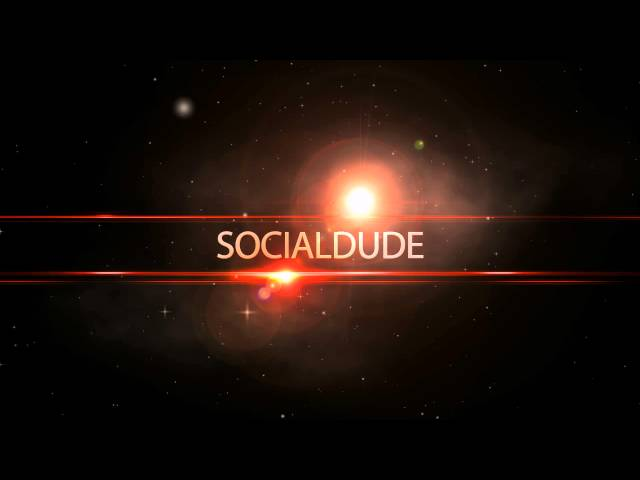 Socialdude.net intro. Early preview [HD]